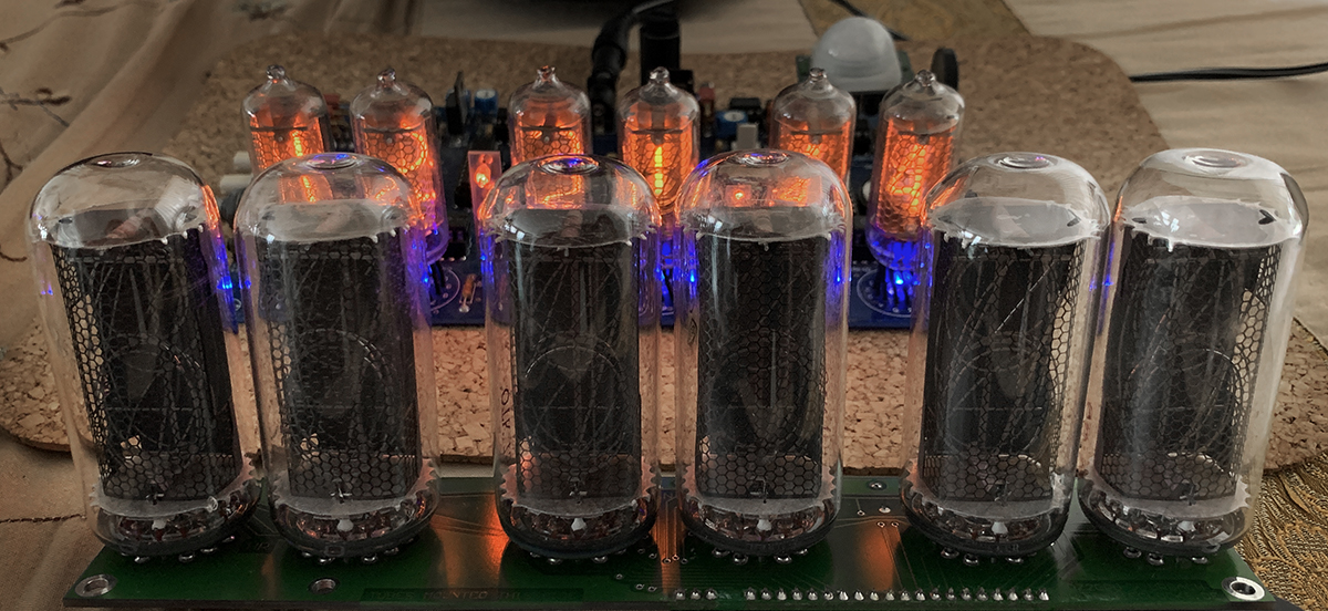 IN-18 Russian Nixie Tubes