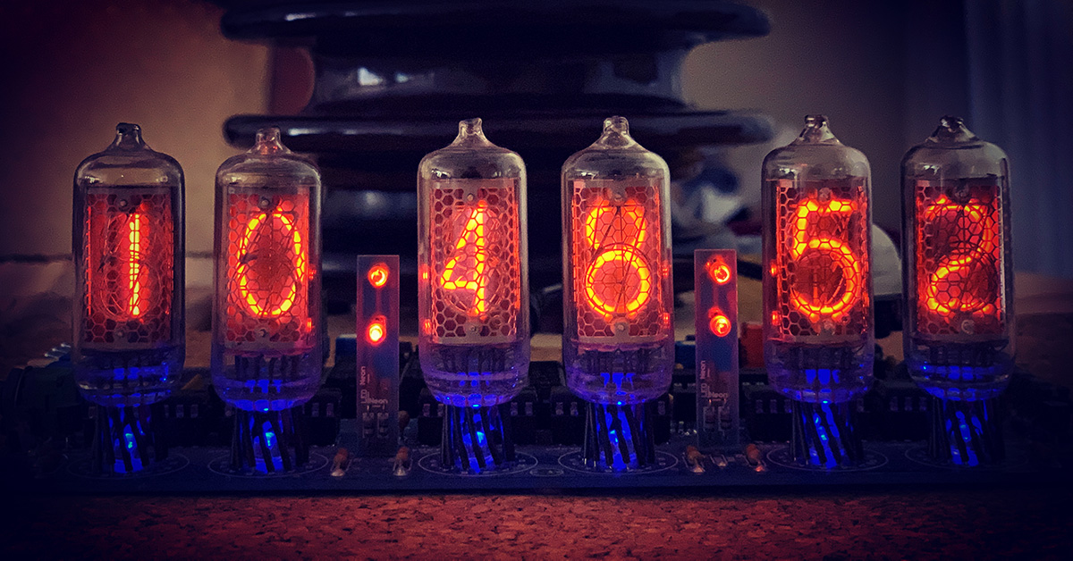 IN-8-2 Nixie Clock